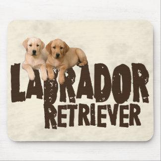 Labrador Puppies Mouse Pad