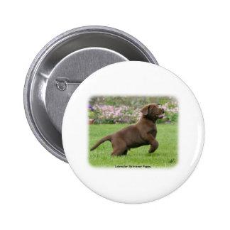 Labrador Puppy 9Y220D-029 Button