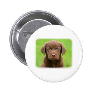 Labrador puppy 9Y267D-063 Pinback Button