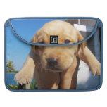 Labrador Puppy - Good Morning! MacBook Pro Sleeves