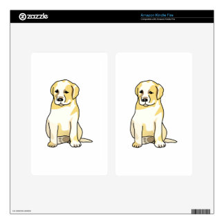 LABRADOR PUPPY KINDLE FIRE DECAL