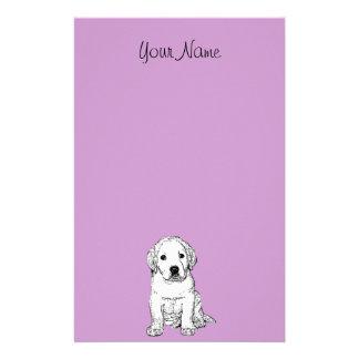 Labrador Puppy Stationary Stationery