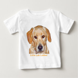 "Labrador ""Reggie"" Painting on Baby T-Shirt"