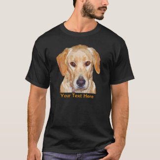 "Labrador ""Reggie"" Painting on Mens T-Shirt"