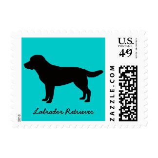 Labrador Retirever First Class Postage Stamps