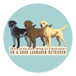 Labrador Retriever 3 colors Stickers