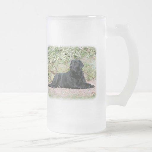 Labrador retriever 9Y262D-047 Taza De Cristal