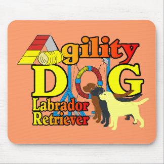 Labrador Retriever Agility Mouse Pad