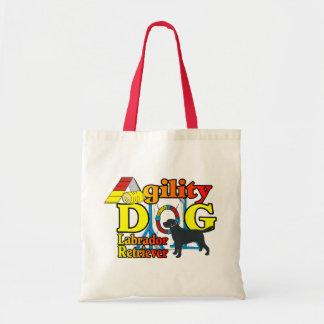 Labrador Retriever Agility Shirts Gifts Tote Bag