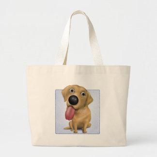 Labrador retriever (amarillo) bolsa de mano