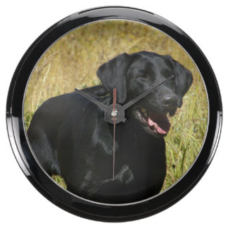 Labrador Retriever Aquavista Clock