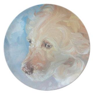 Labrador Retriever Art Plates