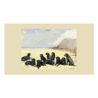 Labrador Retriever Beach Business Card