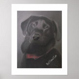 Labrador Retriever Best Friend Ever Poster