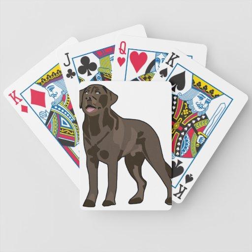 Labrador Retriever Bicycle Poker Cards