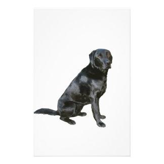 Labrador Retriever - Black 2 Stationery