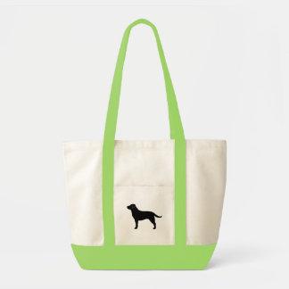 Labrador Retriever (Black) Canvas Bags