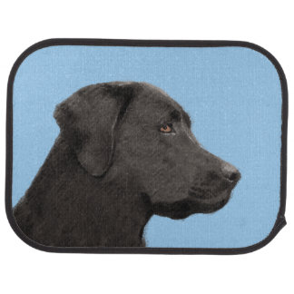 Labrador Retriever (Black) Car Mat