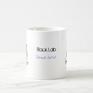 Labrador Retriever - Black Coffee Mug