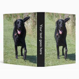 Labrador Retriever black dog beautiful photo album 3 Ring Binder
