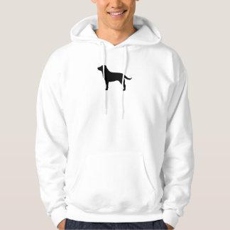 Labrador Retriever (Black) Hooded Sweatshirt