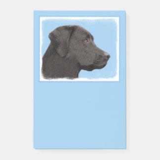 Labrador Retriever (Black) Post-it Notes