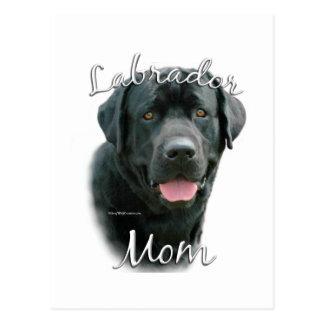 Labrador Retriever (blk) Mom 2 Postcards
