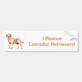 Labrador Retriever Bumper Sticker