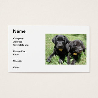 Labrador Retriever Business Card