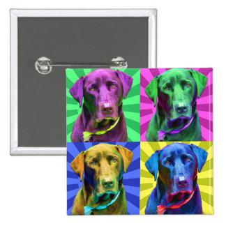 Labrador Retriever Buttons