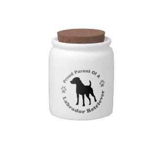 Labrador Retriever Candy Jar