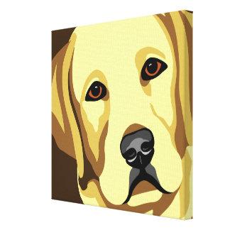 Labrador Retriever Canvas Art Gallery Wrap Canvas