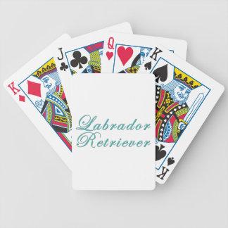 Labrador retriever baraja de cartas