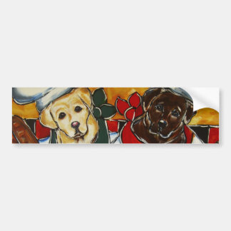 Labrador Retriever Chefs Bumper Sticker
