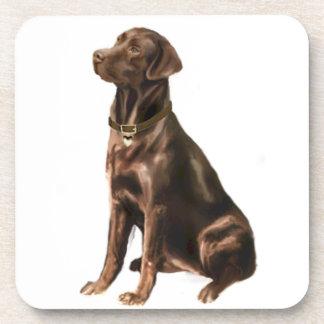 Labrador Retriever - Chocolate 1 Drink Coasters