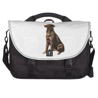 Labrador Retriever - Chocolate 1 Laptop Commuter Bag