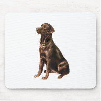 Labrador Retriever - Chocolate 1 Mouse Pads