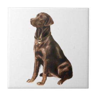 Labrador Retriever - Chocolate 1 Ceramic Tile
