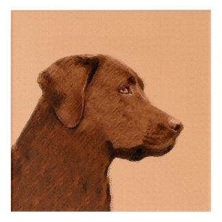Labrador Retriever (Chocolate) Acrylic Wall Art