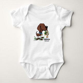 Labrador Retriever - Chocolate Baby Bodysuit