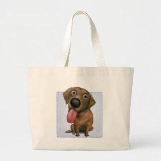 Labrador retriever (chocolate) bolsas de mano