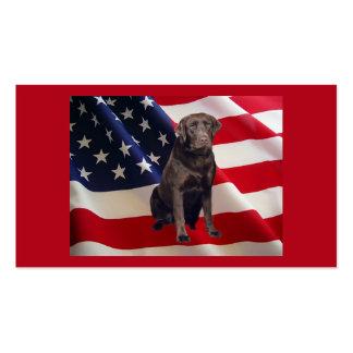 Labrador Retriever Chocolate Business Card