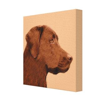 Labrador Retriever (Chocolate) Canvas Print