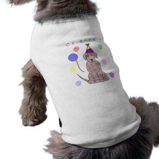 Labrador Retriever Chocolate Celebrate Dog Shirt