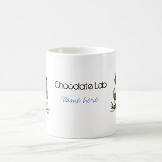 Labrador Retriever - Chocolate Coffee Mug