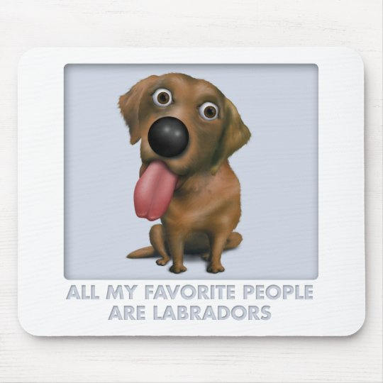 Labrador Retriever (Chocolate) Favorite Mouse Pad