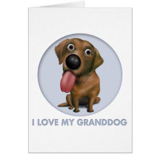 Labrador Retriever (Chocolate) Granddog Card