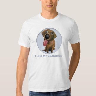 Labrador retriever (chocolate) Granddog Remeras
