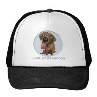 Labrador Retriever (Chocolate) Granddog Trucker Hat