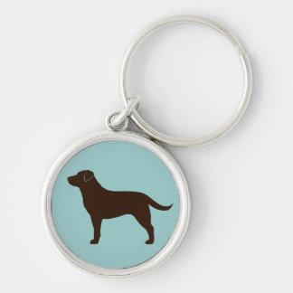 Labrador Retriever (Chocolate) Key Chains